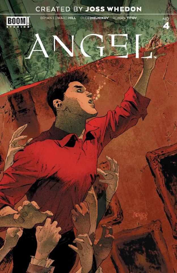 Angel #4 (20 Copy Melnikov Cover)