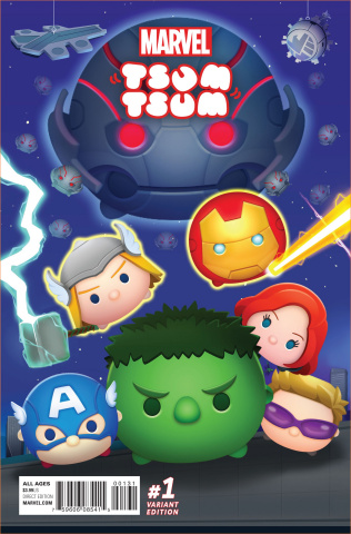 Marvel Tsum Tsum #1 (Classified Connecting Cover)
