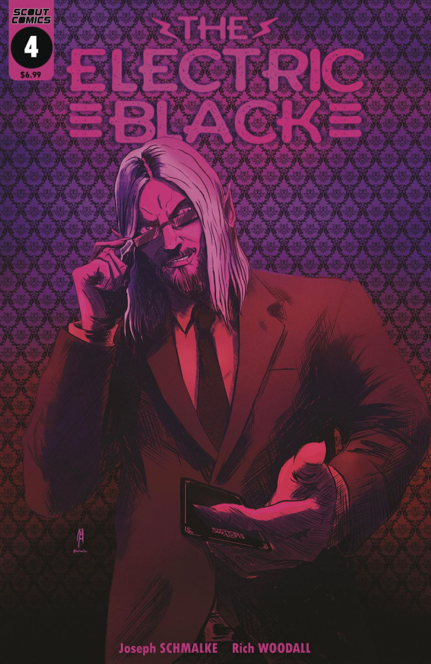 The Electric Black #4 (Neon Variant Cover)