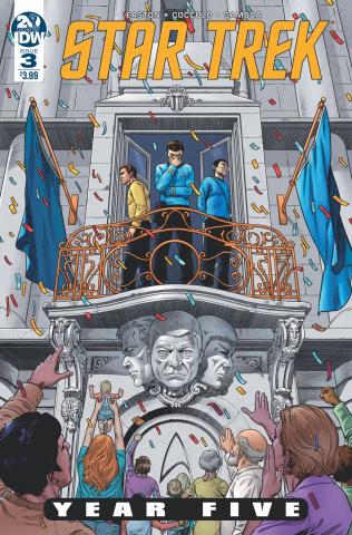 Star Trek: Year Five #3 (10 Copy Lendl Cover)