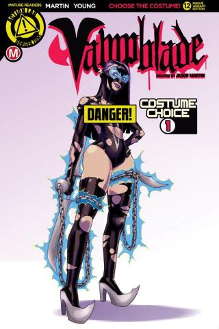 Vampblade #12 (Costume Risque Cover)