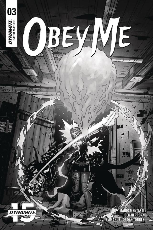 Obey Me #3 (10 Copy Herrera B&W Cover)