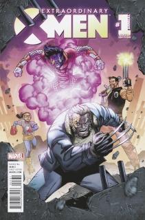 Extraordinary X-Men Annual #1 (Lim Cover)