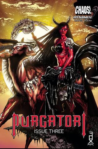 Purgatori #3 (Fox Cover)