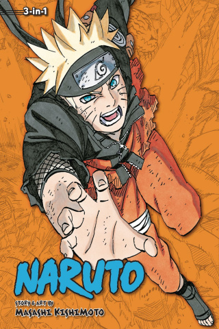Naruto Vol. 23 (3-in-1 Edition)