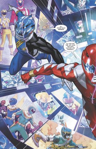 Mighty Morphin' Power Rangers #41 (Mora Cover)