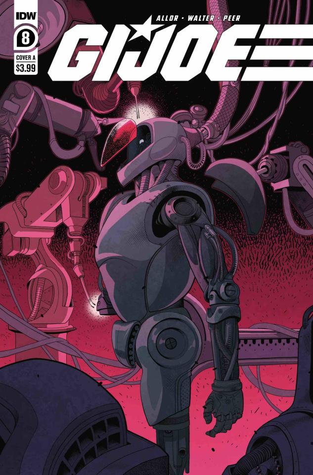G.I. Joe #8 (Walter Cover)