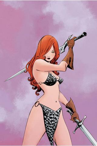 Red Sonja #23 (Lee Virgin Cover)