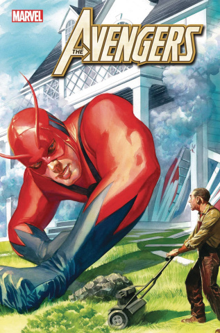 Avengers #26 (Alex Ross Marvels 25the Anniversary Cover)