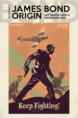 James Bond: Origin #5 (Walsh Cover)