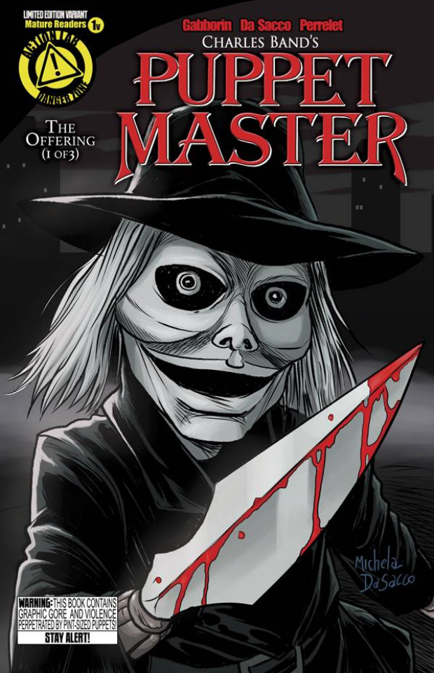 Puppet Master #1 (Blade Cover)