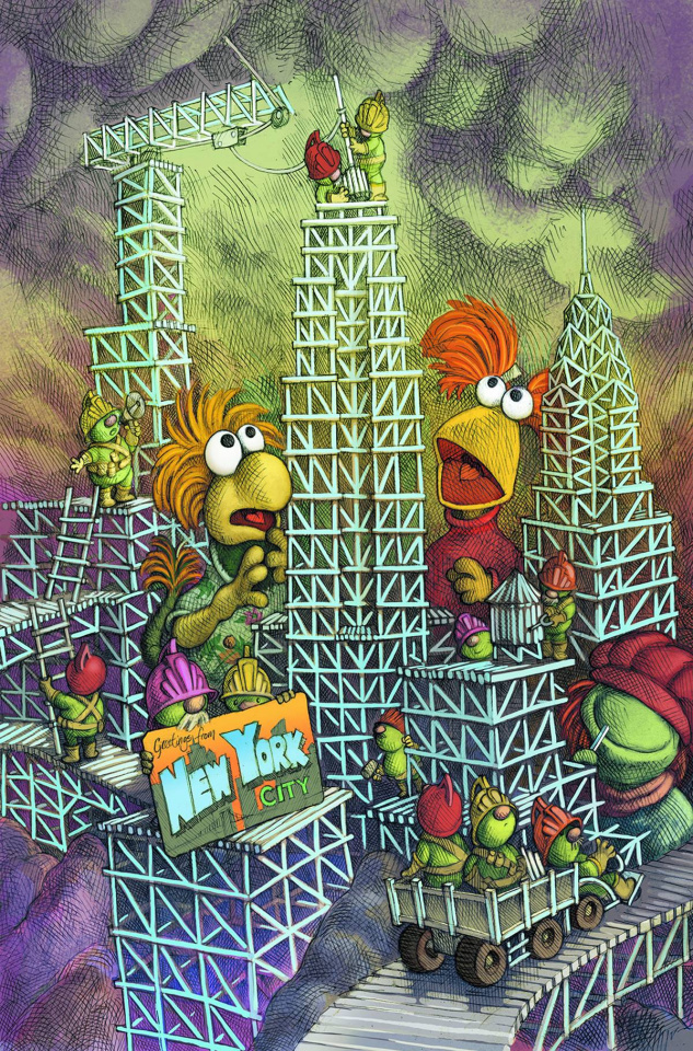 Fraggle Rock: The Journey to the Everspring #1 (NYCC Cover)