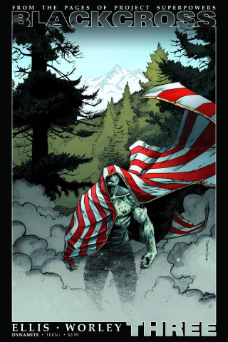 Blackcross #3 (Shalvey Cover)