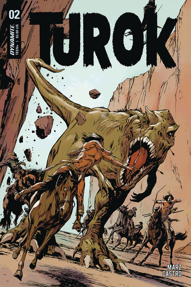 Turok #2 (Guice Cover)