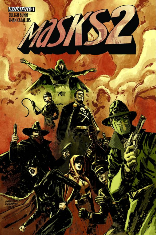 Masks 2 #1 (Subscription Cover)