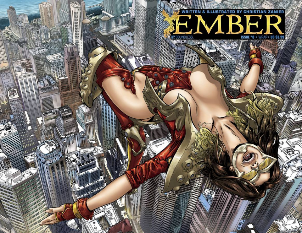 Ember #0 (Wrap Cover)