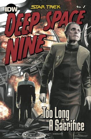 Star Trek: Deep Space Nine - Too Long A Sacrifice #1 (10 Copy Woodward Cover)