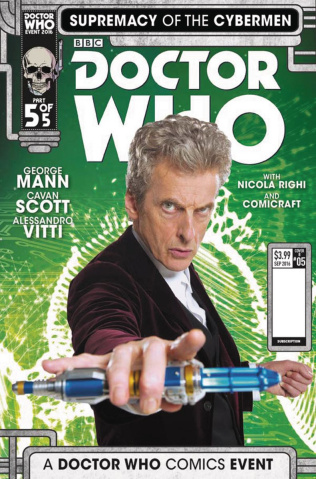 Doctor Who: Supremacy of the Cybermen #5 (Photo Cover)