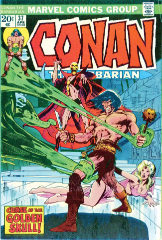 Conan: Curse of Golden Skull #1 (True Believers)