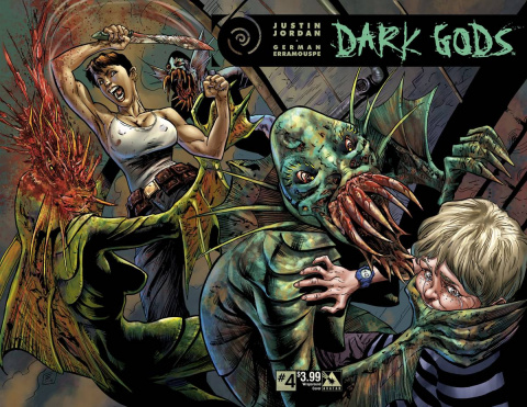 Dark Gods #4 (Wrap Cover)