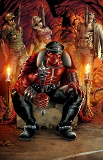Grimm Fairy Tales: Satan's Hollow #3 (Spay Cover)