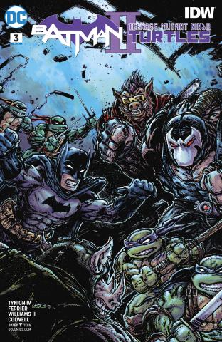 Batman / Teenage Mutant Ninja Turtles II #3 (Variant Cover)
