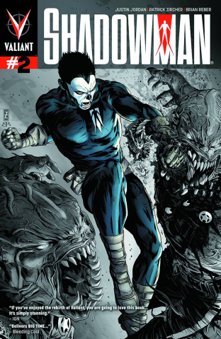 Shadowman #2 (2nd Printing)