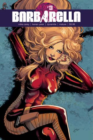 Barbarella #3 (Cifuentes Cover)