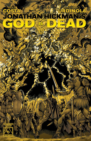 God Is Dead #42 (Gilded Cover)