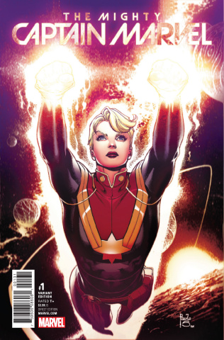 The Mighty Captain Marvel #1 (Siqueira Cover)