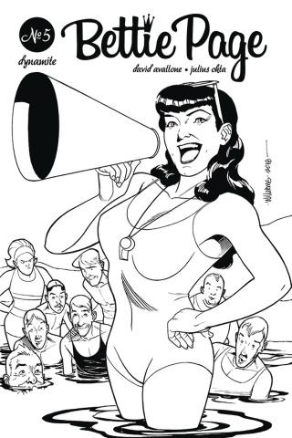 Bettie Page #5 (20 Copy Williams B&W Cover)
