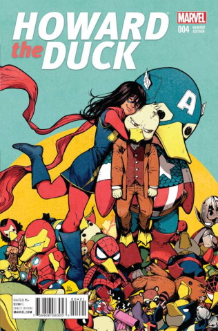 Howard the Duck #4 (Shirahama Cover)