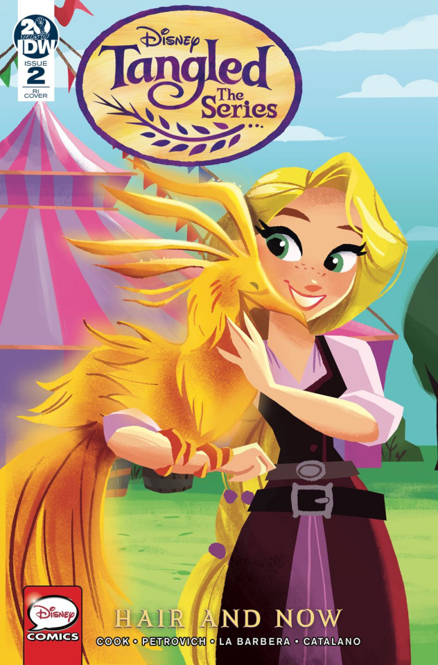 Tangled: Hair and Now #2 (10 Copy Zapata Cover)