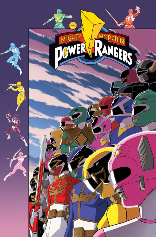 Mighty Morphin' Power Rangers #35 (Preorder Gibson Cover)