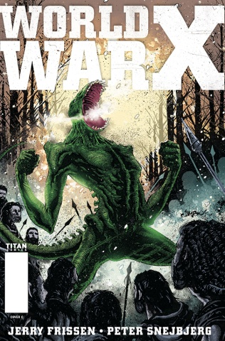 World War X #5 (Salgado Cover)
