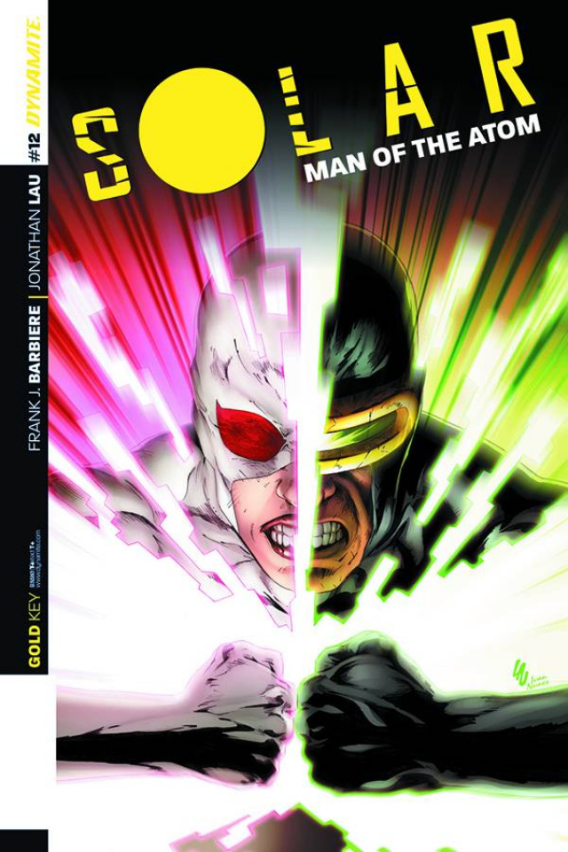 Solar: Man of the Atom #12 (Lau Subscription Cover)