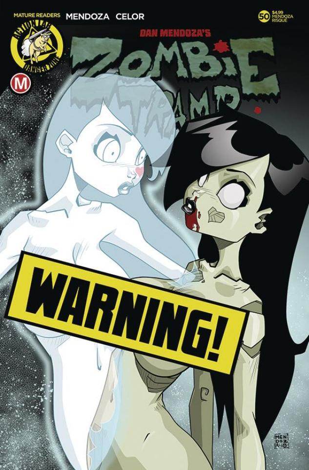 Zombie Tramp #50 (Mendoza Risque Cover)