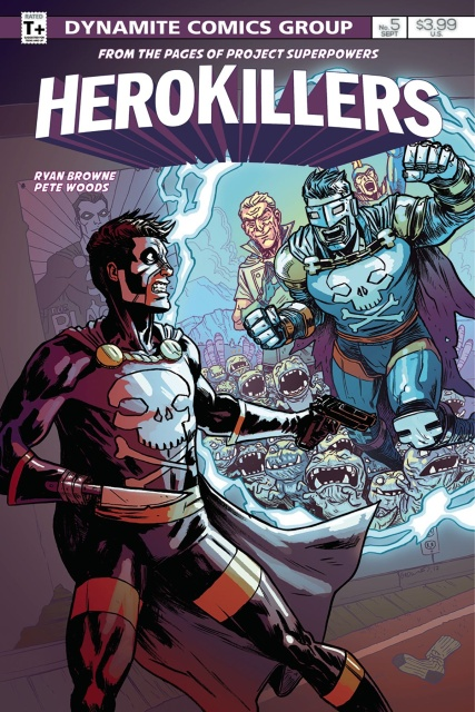 Project Superpowers: Hero Killers #5 (Browne Cover)