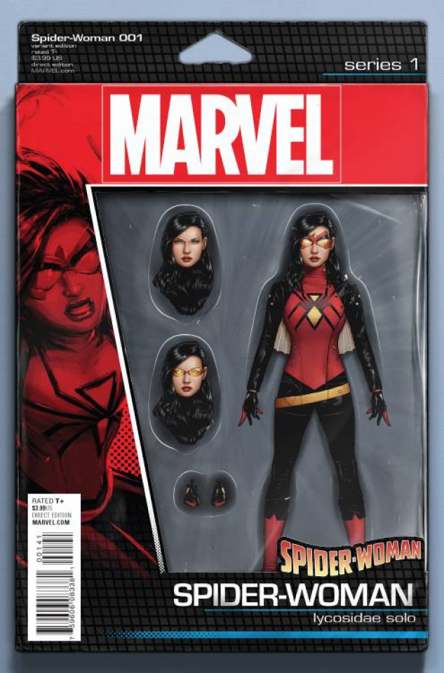 Spider-Woman #1 (Christopher Action Figure Cover)