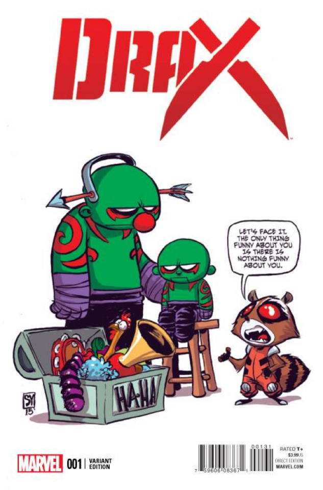Drax #1 (Young Cover)