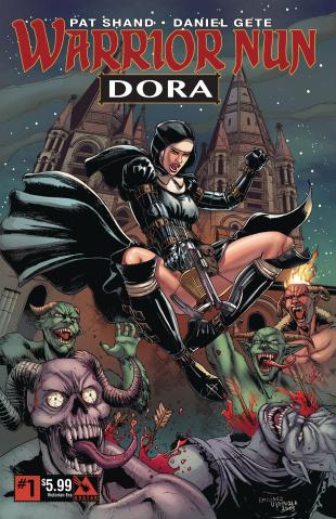 Warrior Nun Dora #1 (Victorian Era Cover)