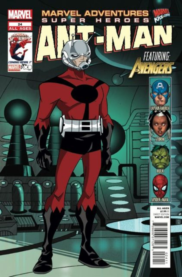 Marvel Adventures: Super Heroes #24