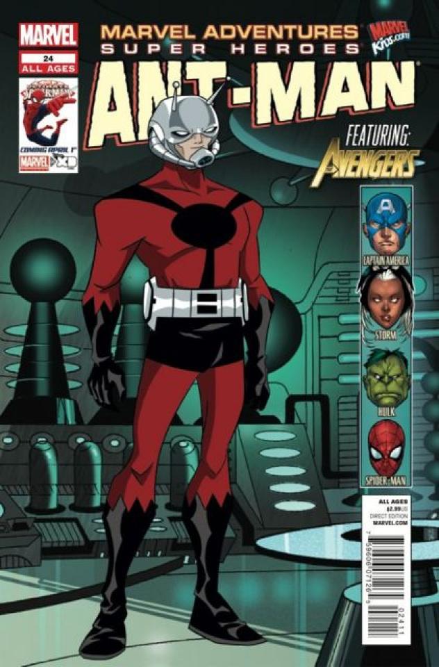 Marvel Adventures: Super Heroes #24