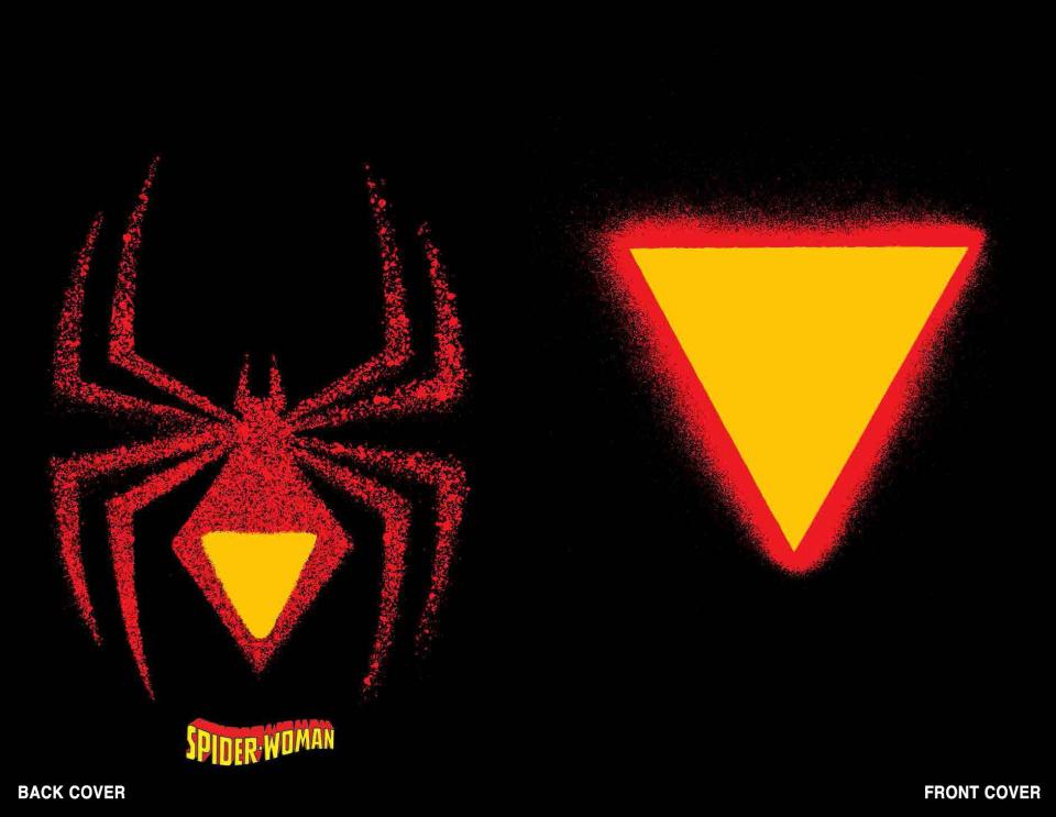 Spider-Woman #1 (Chip Kidd Die Cut Cover)
