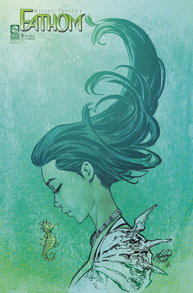 Fathom #5 (12 Copy Oum Cover)