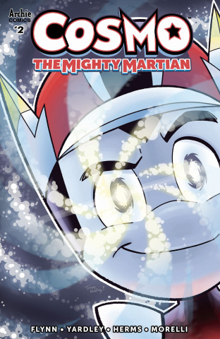 Cosmo: The Mighty Martian #2 (Yardley Cover)