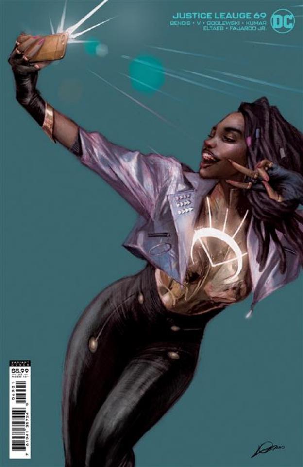 Justice League #69 (David Marquez Cover)