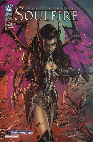 Soulfire #3 (Maria Cover)