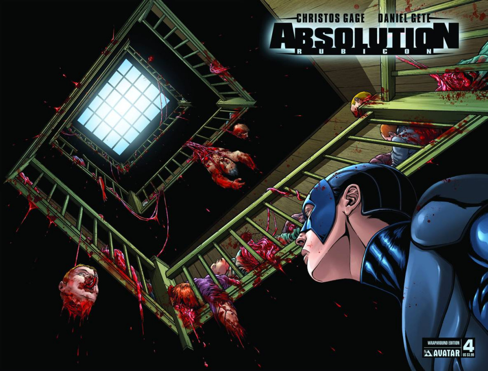 Absolution: Rubicon #4 (Wrap Cover)