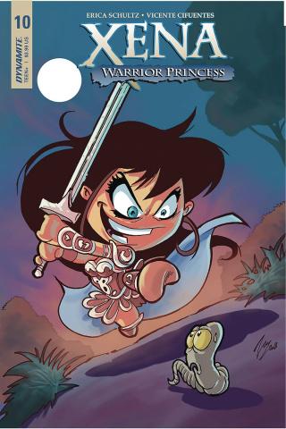 Xena #10 (Cifuentes Cover)